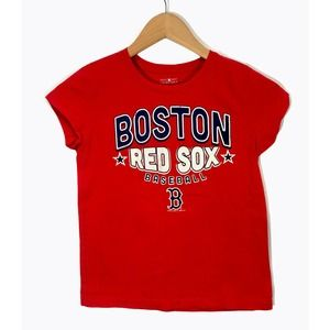 Boston Red Sox Girls Graphic T Shirt - Size 10/12